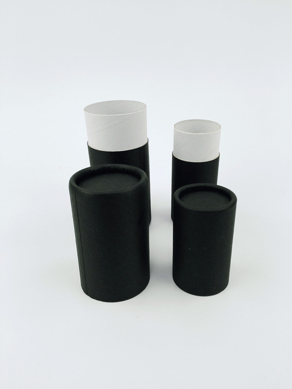 Cylindrical box Whosale cardboard lipstick tube packaging with push-up system made in China