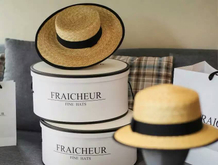Luxury design round hat box for topper wholesales in EECA
