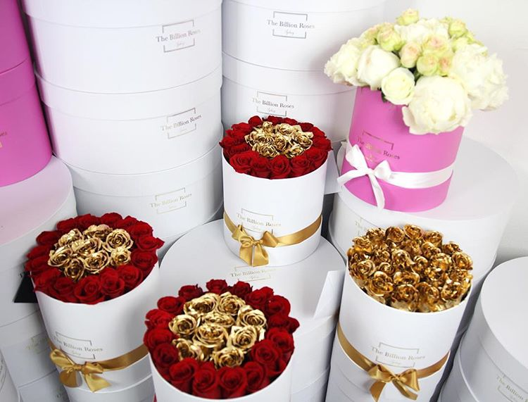Hot sale cylinder paper storage box for flower decor/round flower box/cylinder box for flowers in EECA Packaging China