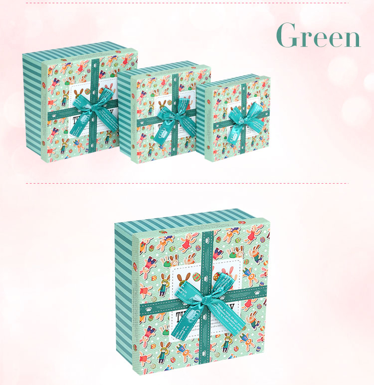 Paper Box/square box/box with bowknot/recycled paper box wholesale Supplier in EECA China