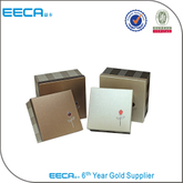 2017 square handmade square gift box cardboard packaging box china supplier