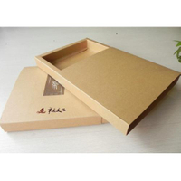 Paper Box/kraft paper box/Kraft paper drawer box/kraft paper box for tea candle made in Supplier EECA
