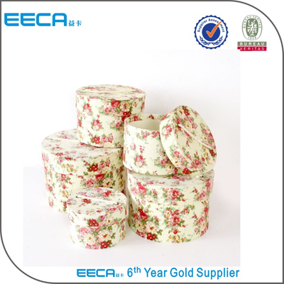 2017 Cylindrical flower box Large storage cardboard shoe & clothes boxes/round paper boxes in China