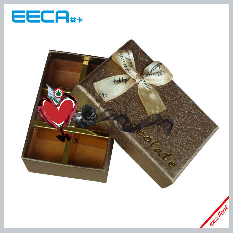2017 Rectangular gift box Custom Luxury Chocolate Packaging Box