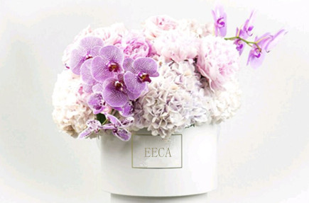 Flower box cylinder flower box round paper custom waterproof flower paper round packaging hat box with lid made in China