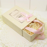 Paper drawer gift box/stripe box/Perfume paper box/drawer box for wallet made in EECA Packaging China