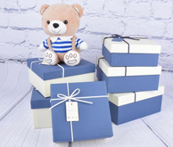 2017 square gift box wholesale doll box custom handmade baby gift toy packaging box in china