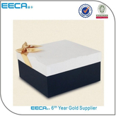 Square box glossy laminated white color box packaging/white cardboard box/shoe boxes