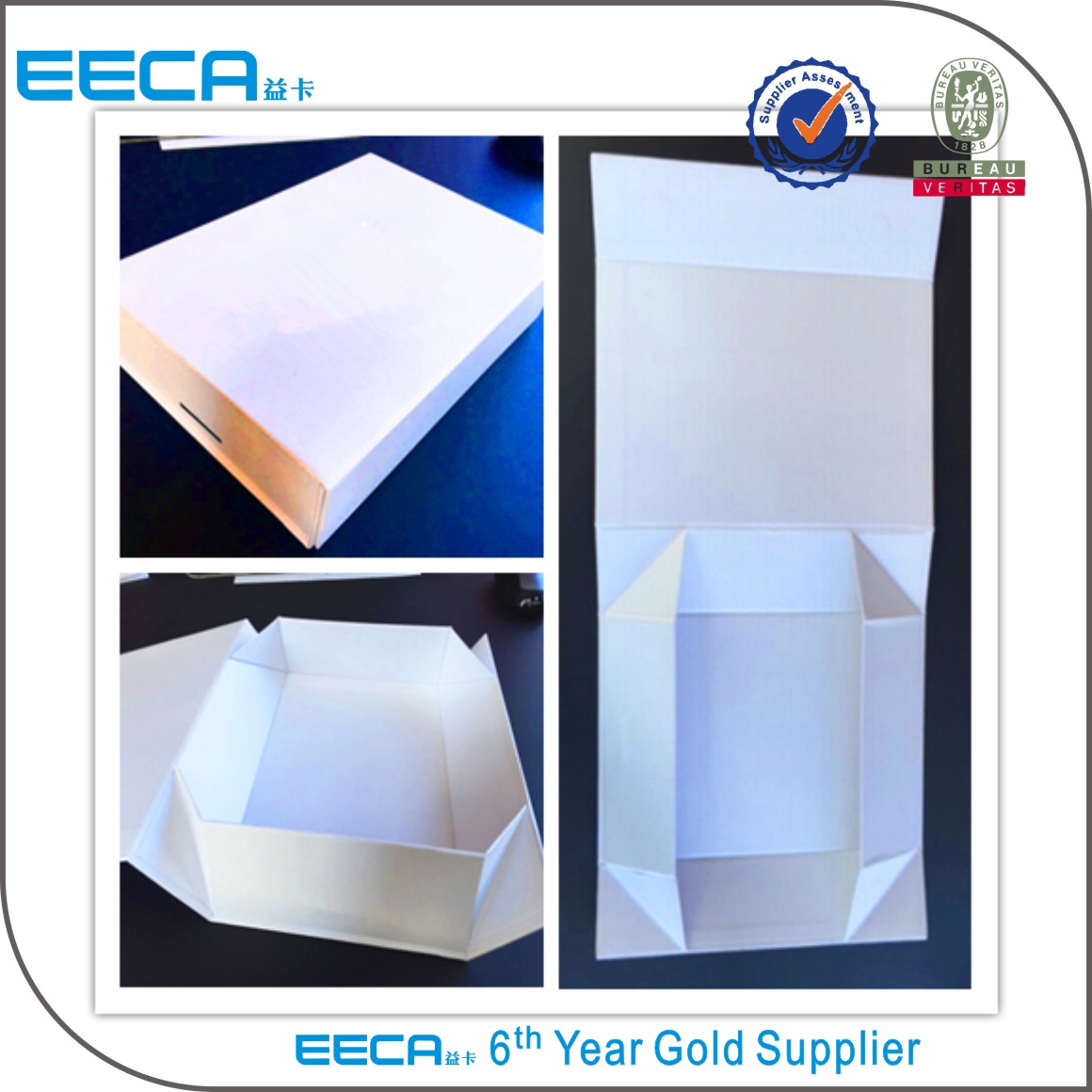 2017 Foldable gift boxes Customized color folding gift box foldable packaging boxes made in China