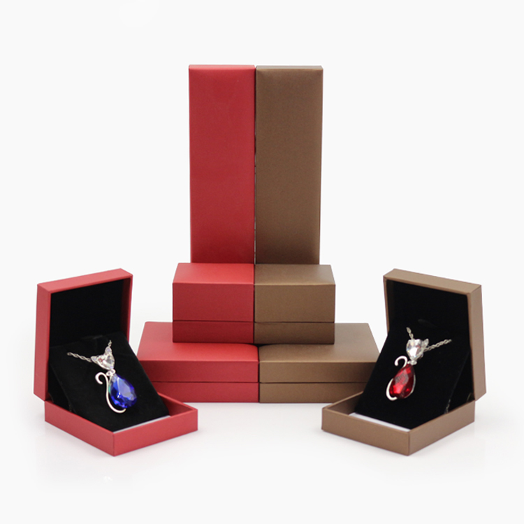 2017 Square gift box color jewellery Gift Boxes for Rings or Necklace