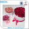 Selling like hotcakes white square flower/rose packing box/round gift box/Cylindrical flower box made in China