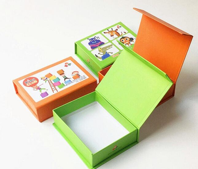 Colorful Handmade Magnet Gift Box Magnet Closed Magnet Box Storage Box