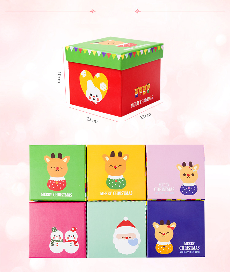 Hot sale square gift box/packaing paper box/Cartoon storage box/Daily storage box made in Dongguan