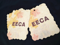 EECA hang tag/China clothing hang tag designs/hang tag printing/hang tag label