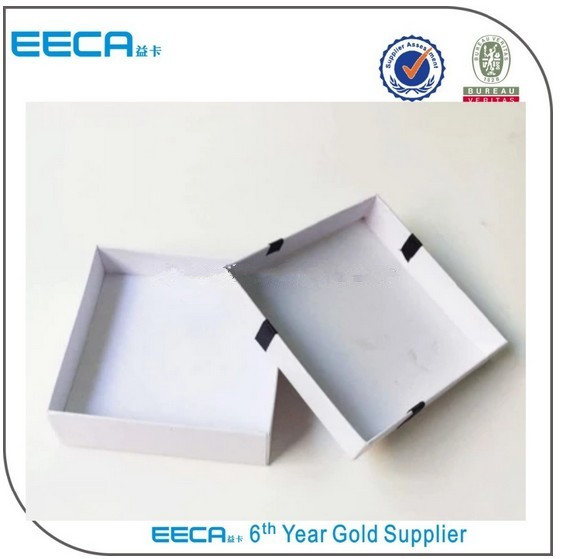 Square Gift Box good quality plain white gift packaging carton box/jewelry box