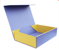 Newly foldable paper cardboard box/flip top boxes wholesale/flat cardboard box in EECA