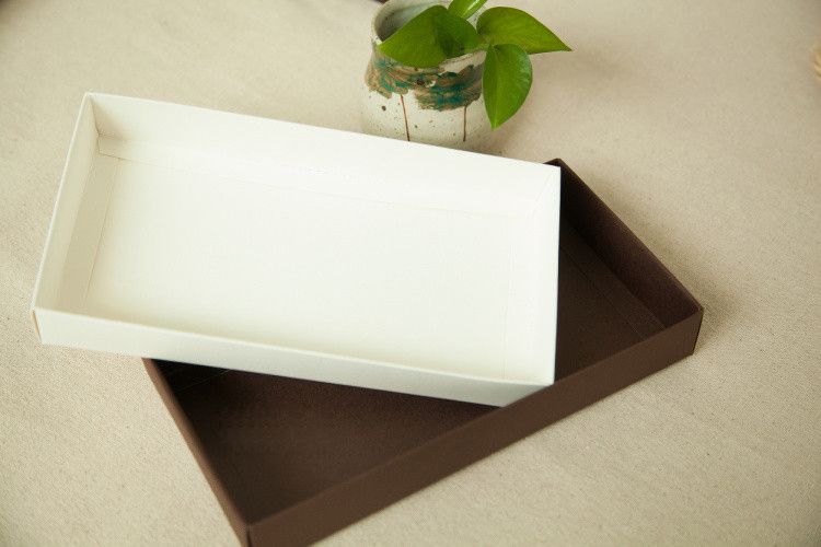 Square box Whosale blank cardboard box/paper jewelry box with cutom logo/paper box for specimen made in Guangdong