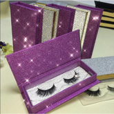 Customized flash paper false eyelash packaging box special paper materials in China EECA