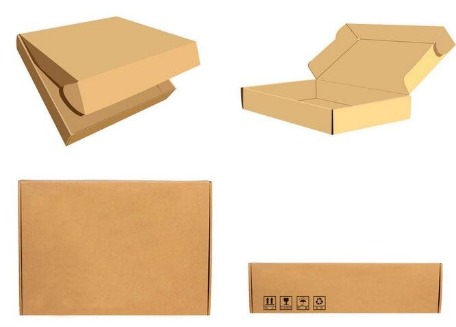 Customized Post Box/Kraft Paper Box/Rectangular gift box/express box in EECA China